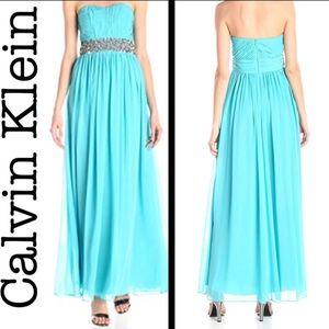 Women's Calvin Klein NWOT strapless formal